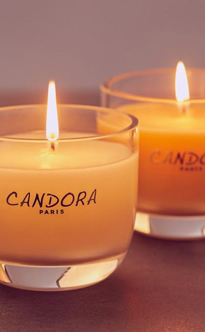 Bougies Candora Paris